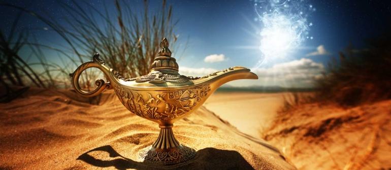 Aladim e a lâmpada mágica