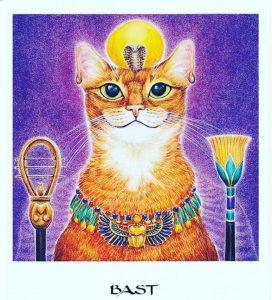 Crédito: Oráculo da Deusa, ilustrado por Hrana Janto, Pensamento